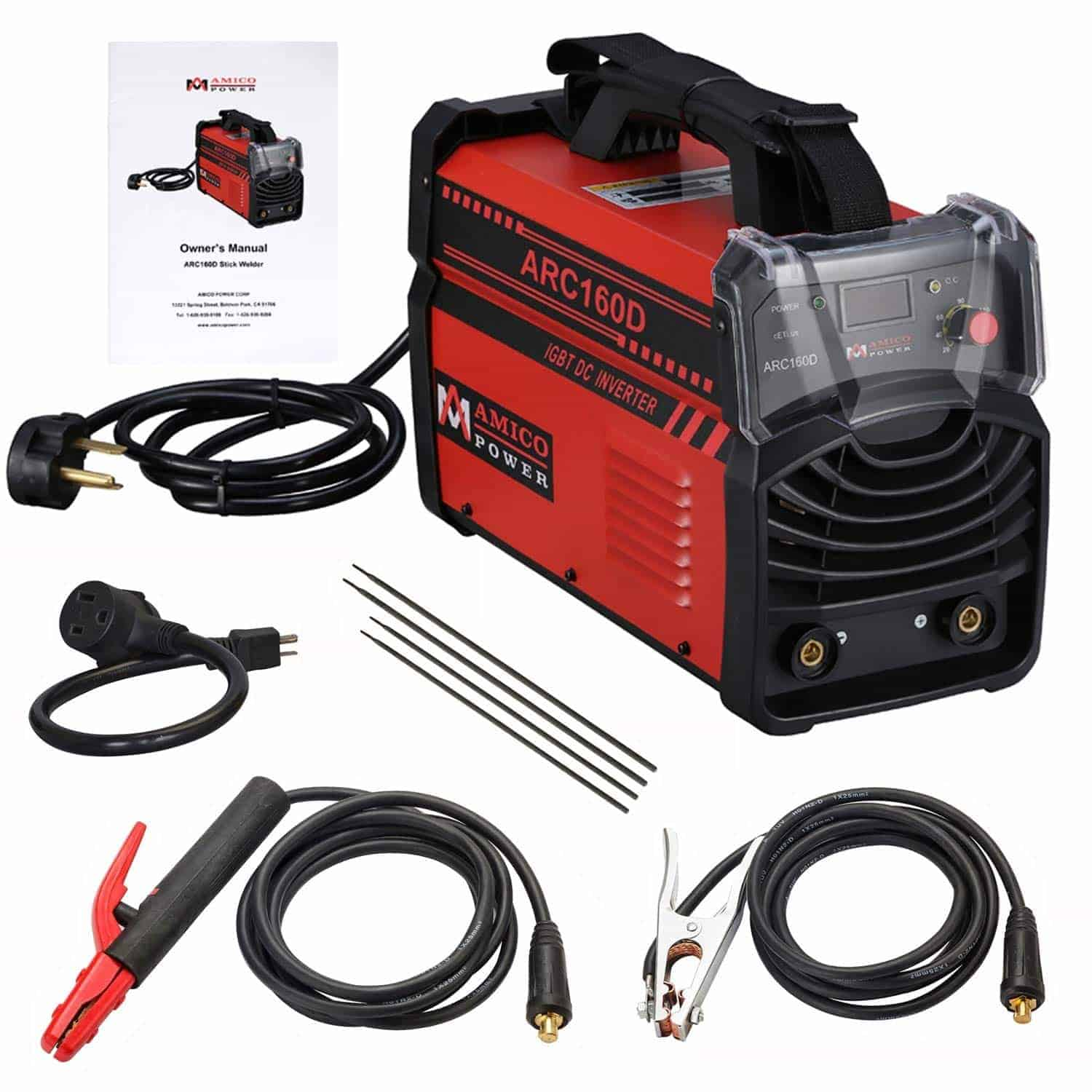 AMICO ARC-160D 160 Amp STICK ARC IGBT Inverter DC Welder