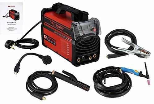 Amico Power 200 Amp TIG Torch Arc Stick DC Inverter Welder Dual Voltage IGBT Welding