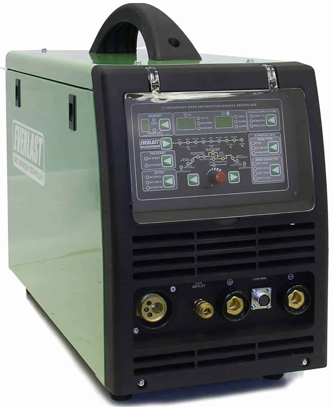 Everlast PowerMTS 251Si Pulse Multi Process Welder