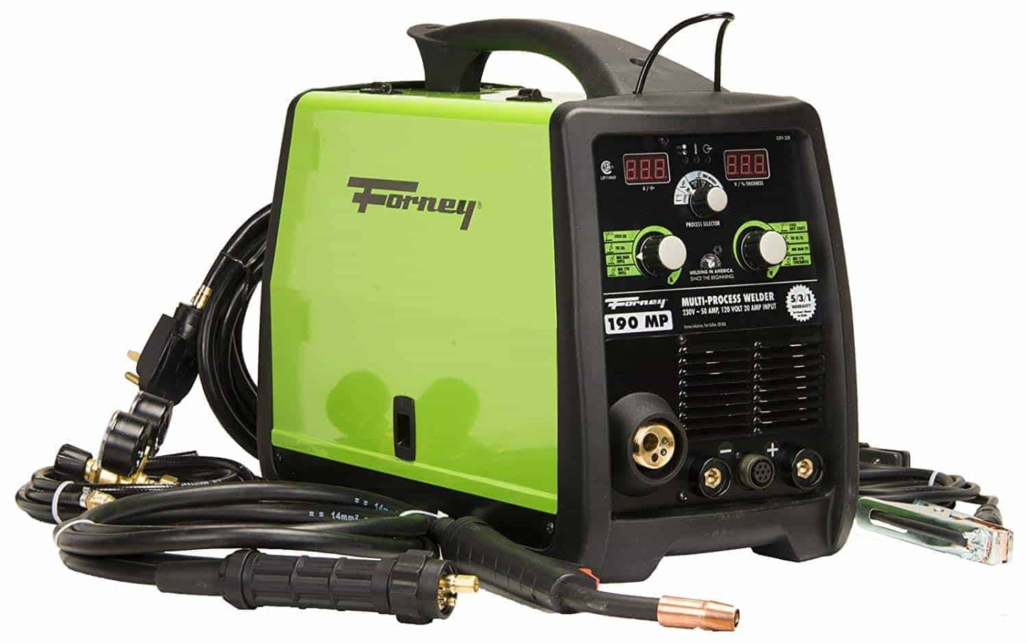 Forney 324 MIG/Stick/TIG 3-in-one 190-Amp Welder