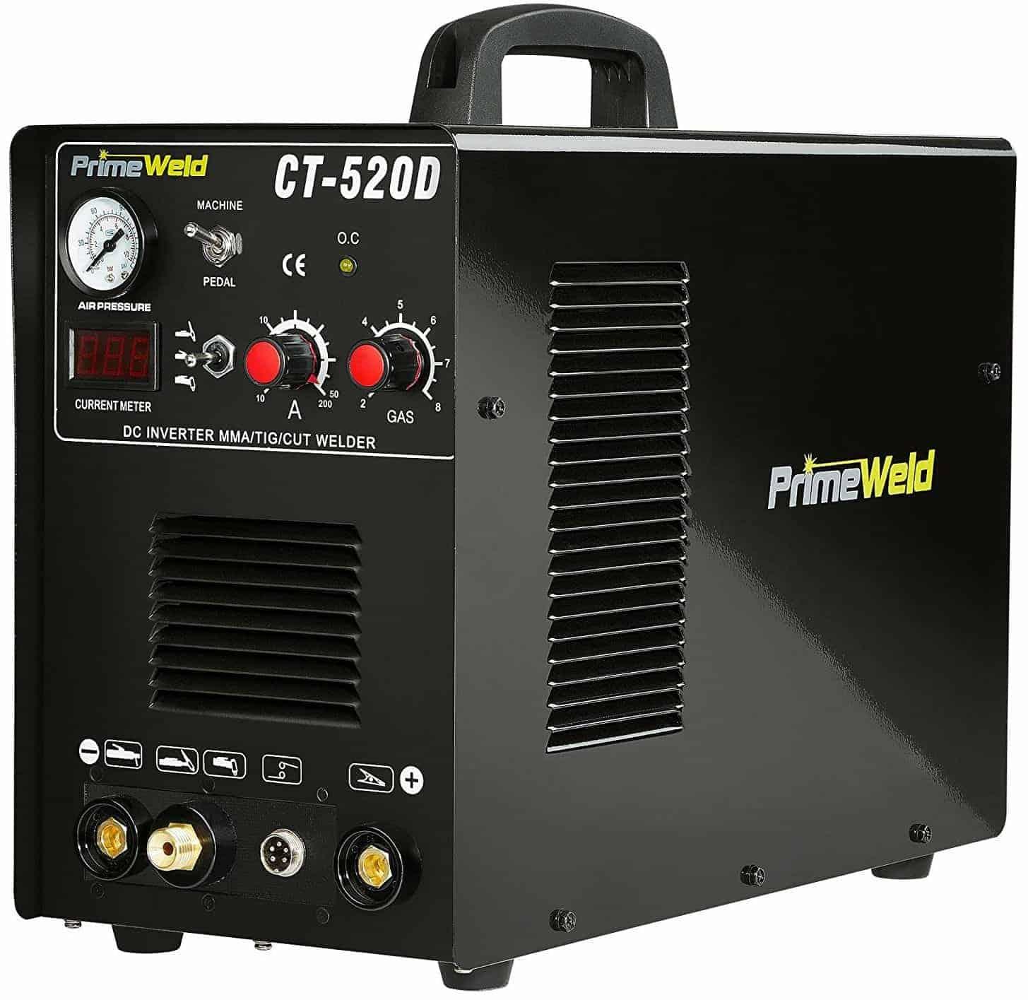 PrimeWeld Ct520d 50 Amps Plasma Cutter, 200 Amps Tig Welder