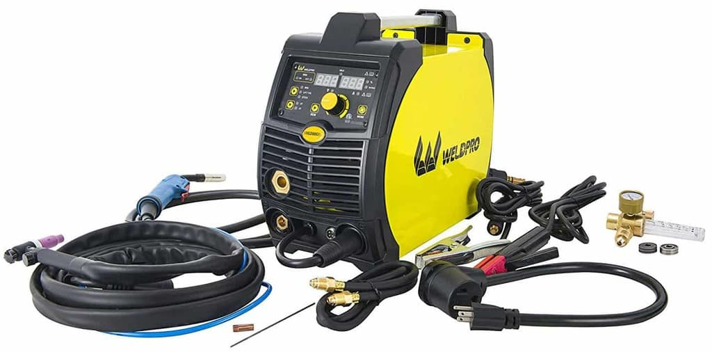 Weldpro 200 Amp Inverter Multi Process Welder with Dual Voltage