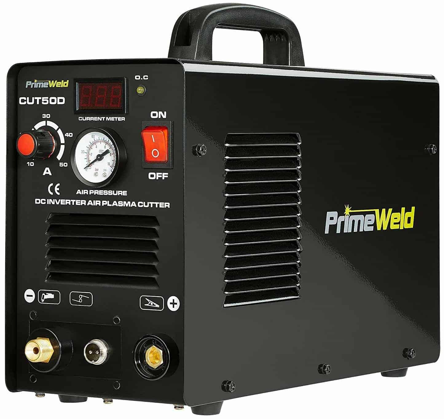 PRIMEWELD Premium & Rugged 50A Air Inverter Plasma Cutter
