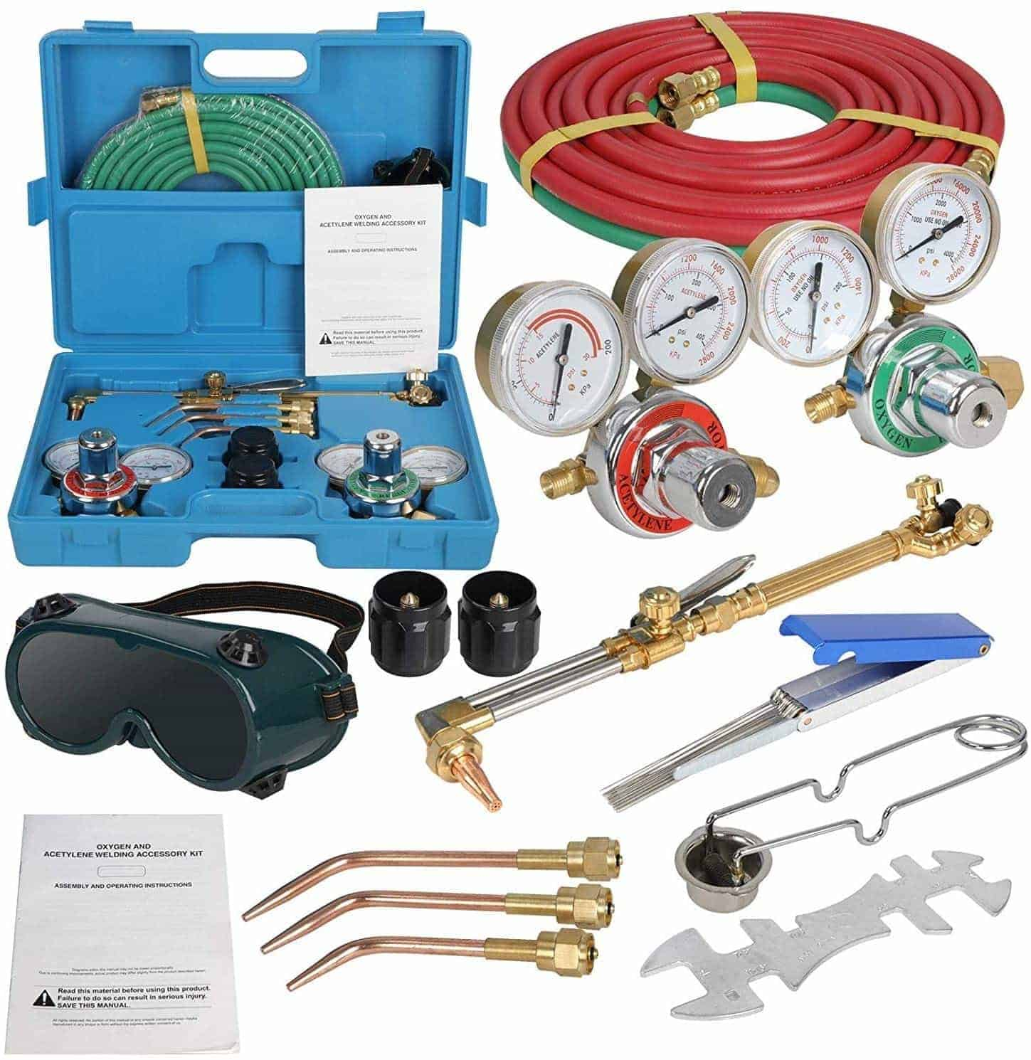 ZENSTYLE Cutting Torch and Welding Kit - Best Value