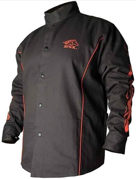 BSX Gear Flames Cotton Welding Jacket