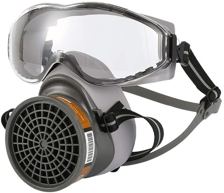 Beinil Half Face Gas Masks with Respirators