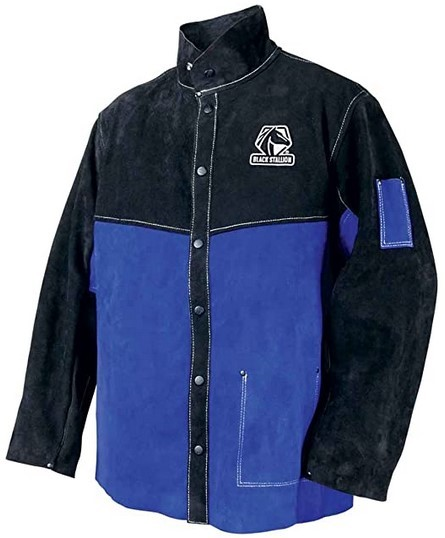 Black Stallion Leather Welding Jacket