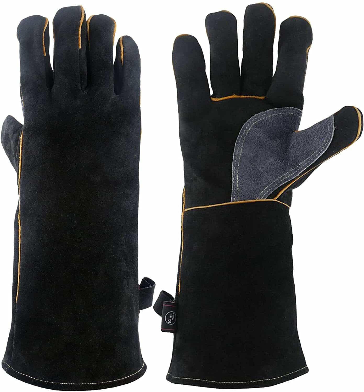 KIM YUAN Extreme Heat Resistant Welding Gloves