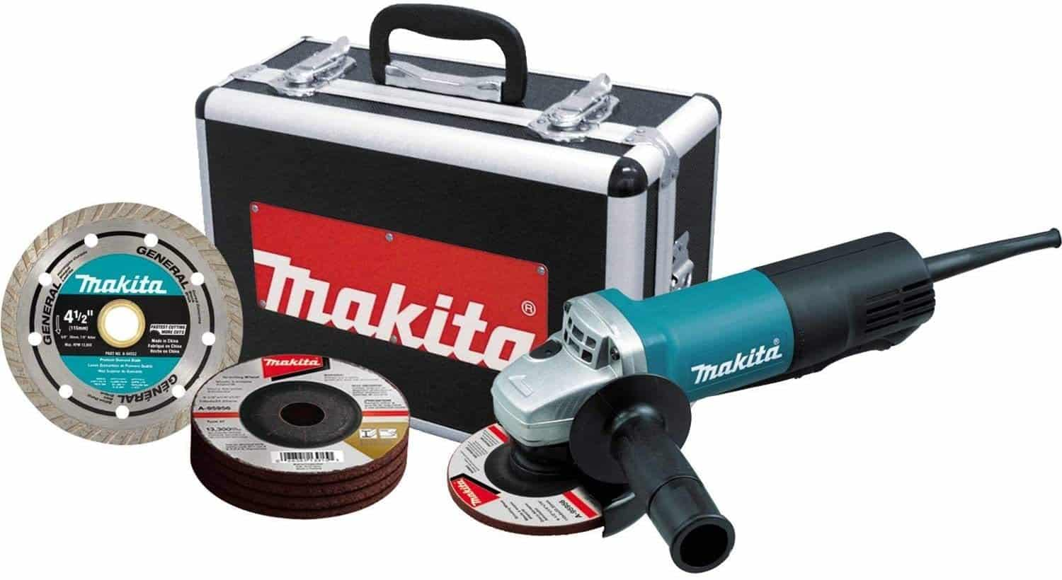 Makita Paddle Switch Angle Grinder