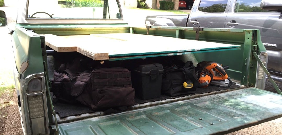 Plywood Rack For Truck