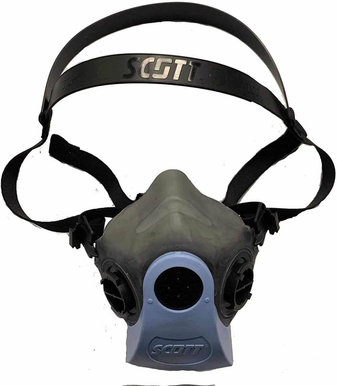 Scott Half Face Mouth Cover Reusable Respirator