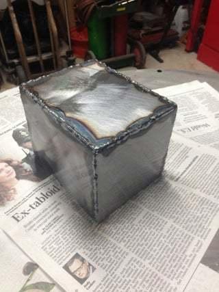 Scrap Metal box