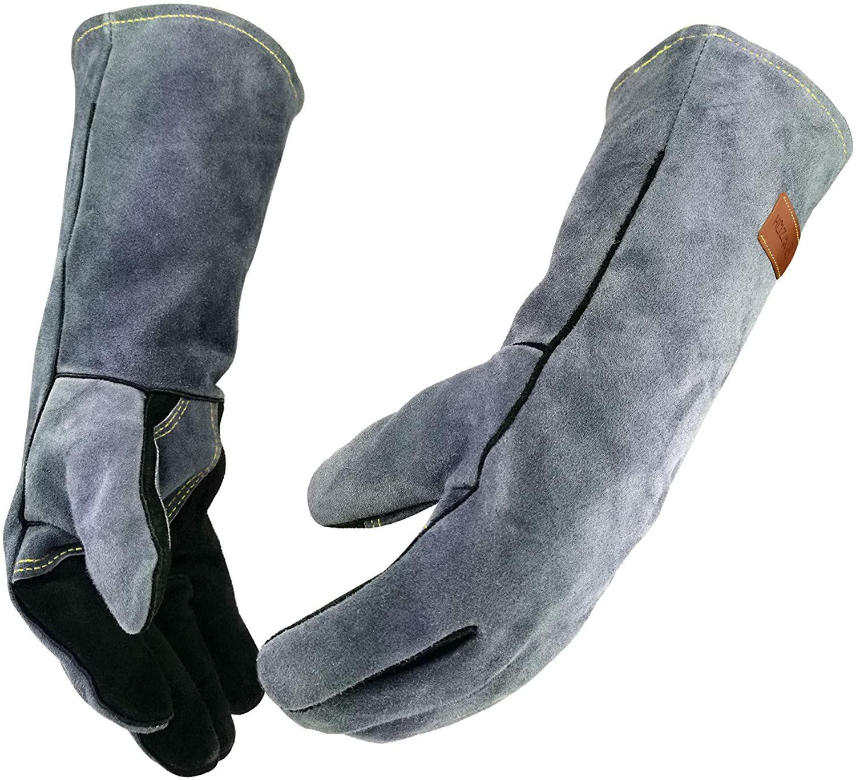 WZQH Long Sleeve Welding Gloves