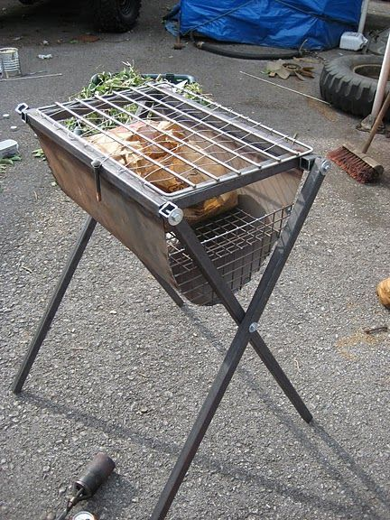 Welded Barbeque pit
