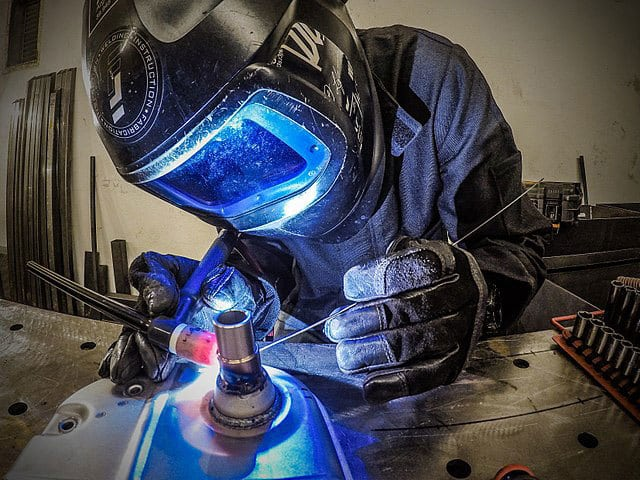 how to weld thin metal