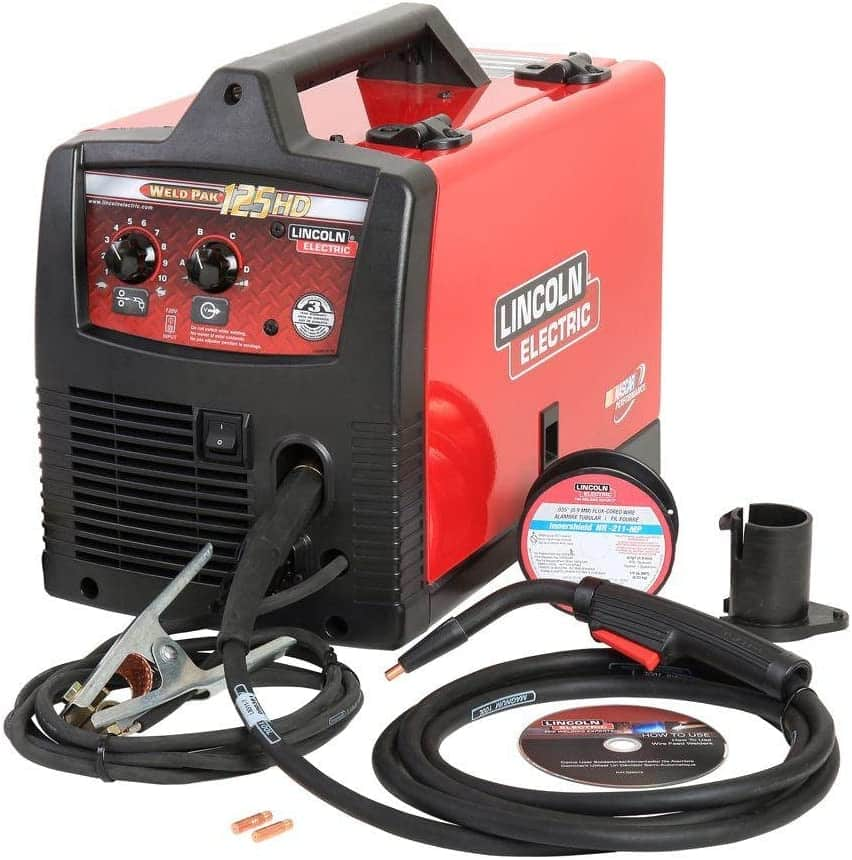 Lincoln 125 HD Welder Review