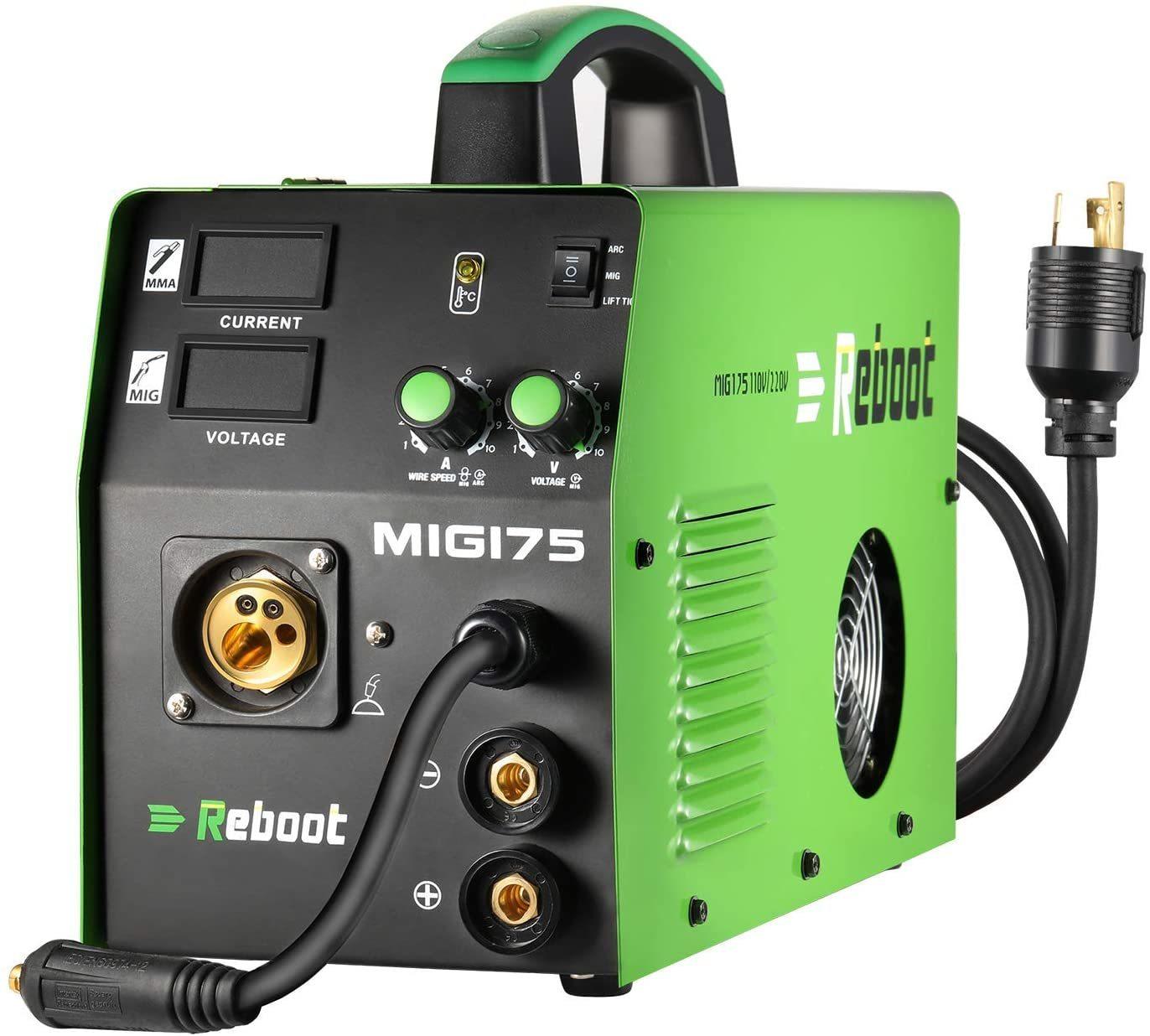 Reboot MIG175 Flux Core Welding Machine