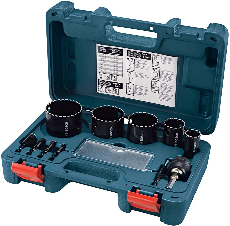 Bosch HDG11 Diamond Hole Saw Set