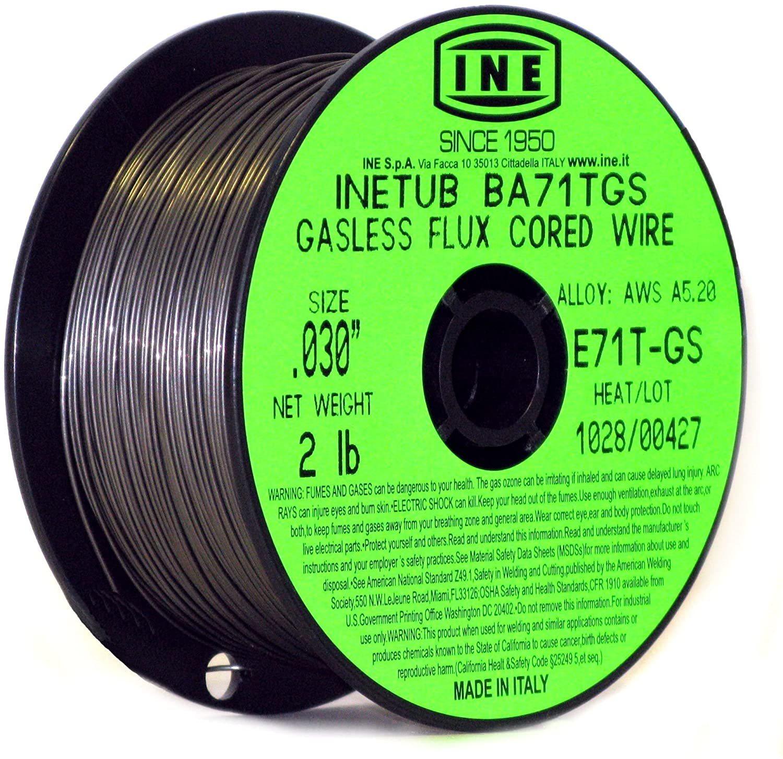 INETUB BA71TGS .030 Flux Cored Welding Wire