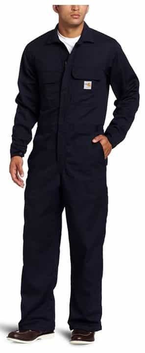 Carhartt Men's Big & Tall Flame-Resistant Traditional Twill Coverall