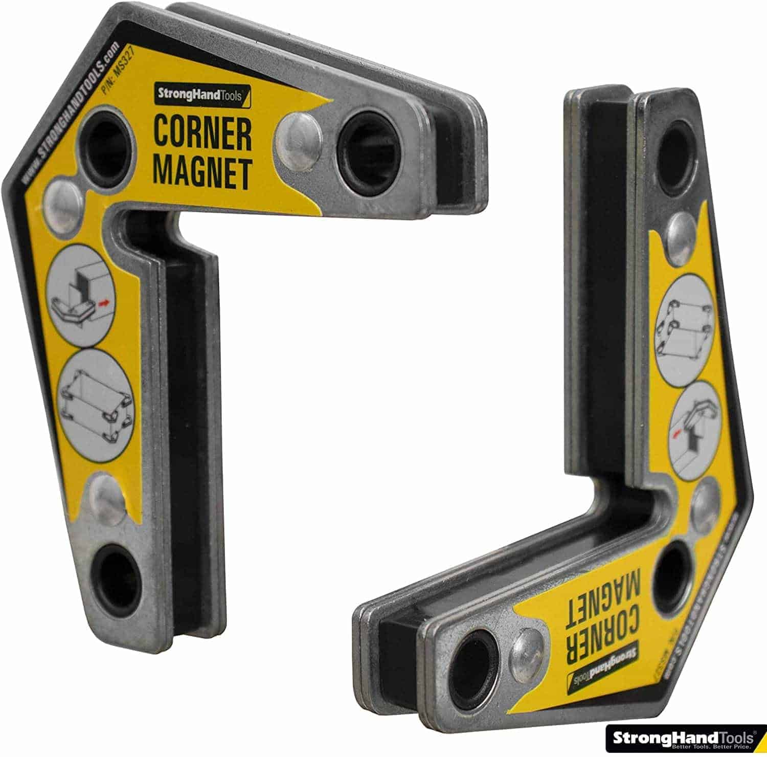 Strong Hand Tools Magnetic Corner Squares