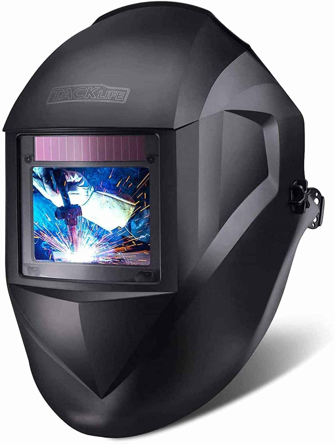 TACKLIFE Professional Welding Helmet with Large Viewing Area