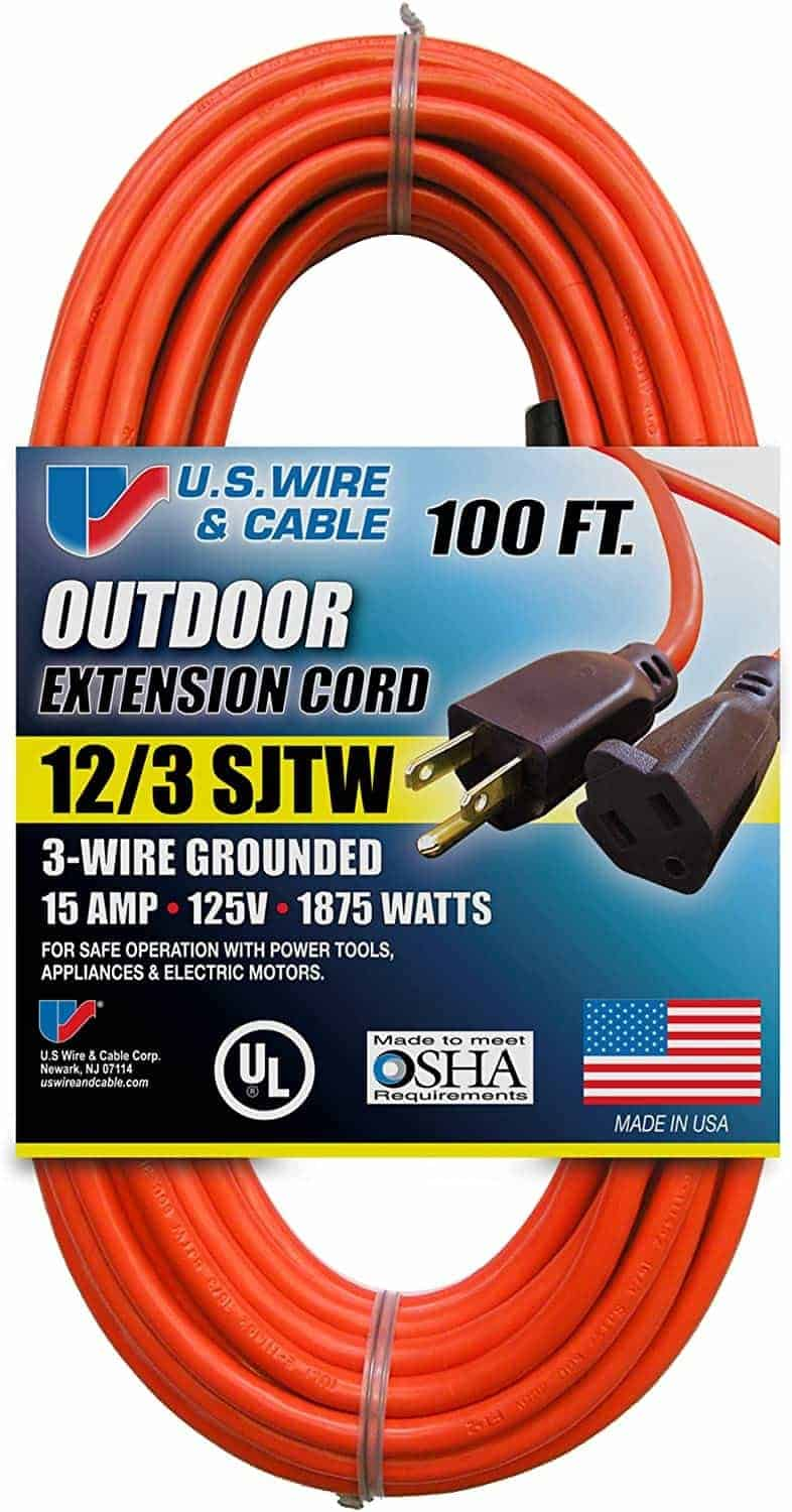 US Wire and Cable Extension Cords