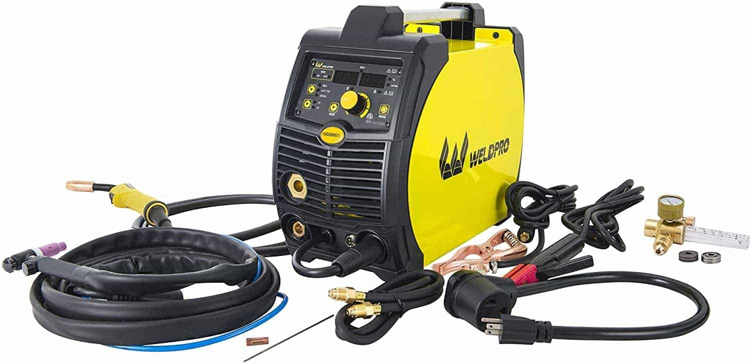 Weldpro Multi Process Welder For Auto Body Work
