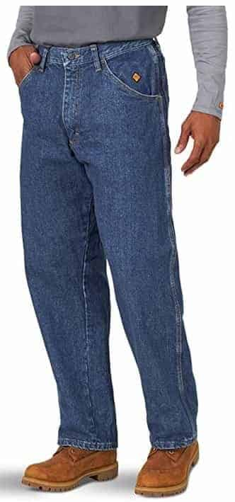 Wrangler Riggs Workwear Men's FR Flame Resistant Carpenter Jean