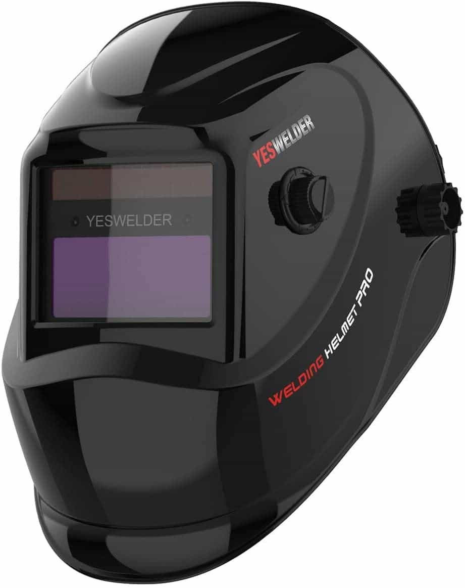 YESWELDER True Color Solar Powered Cheap Welding Helmet