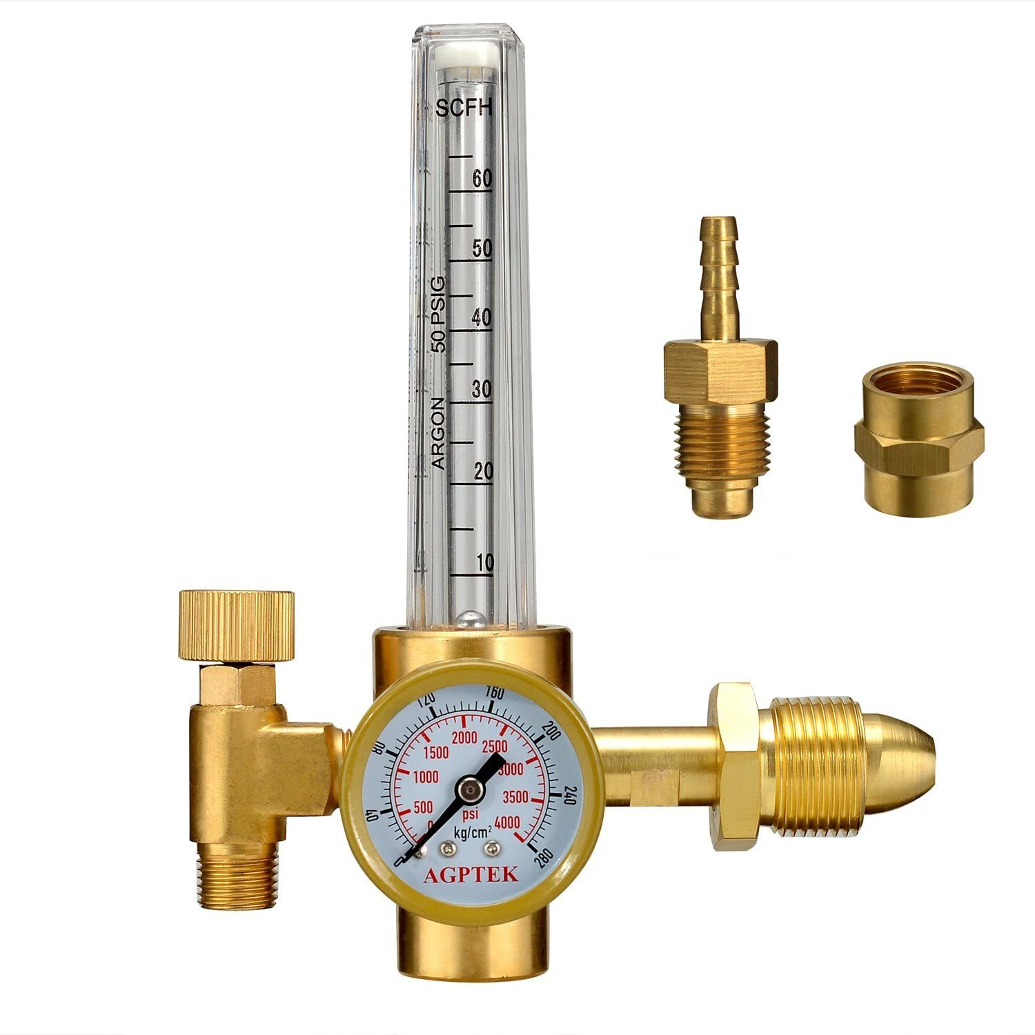 AGPTEK Mig/Tig Flow Meter Regulator