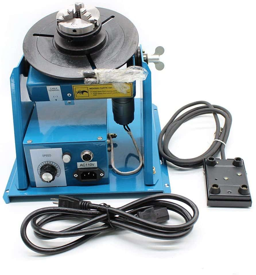 OUKANING Rotary Welding Positioner Turntable Table