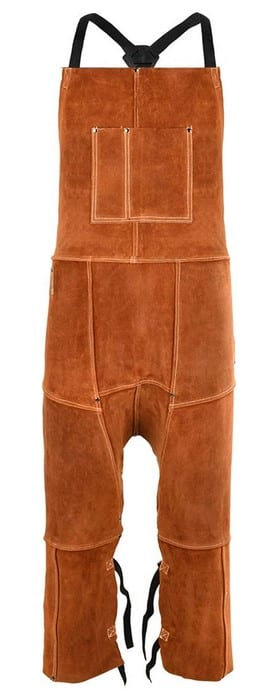 QeeLink Leather Split-Leg Welding Apron