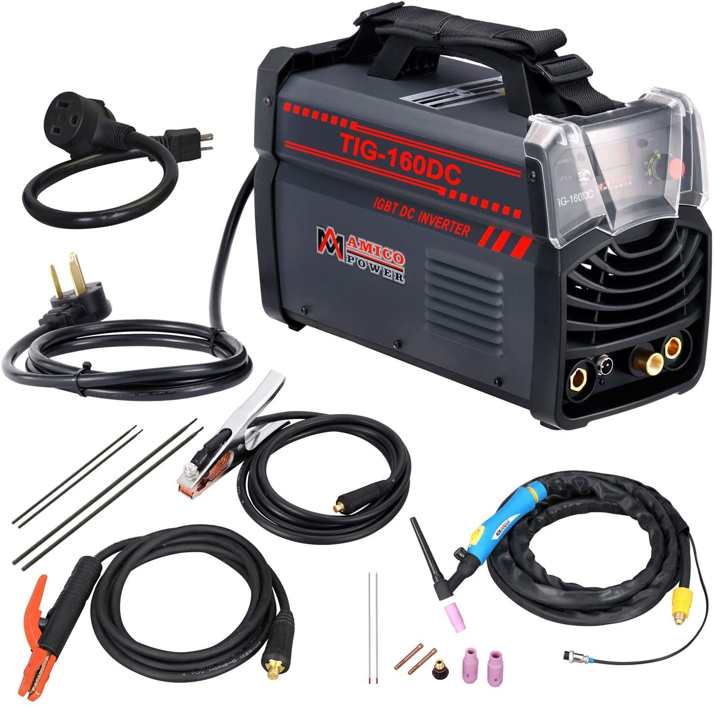 Amico 160DC 160 Amp TIG Torch/Arc/Stick DC Inverter Welder