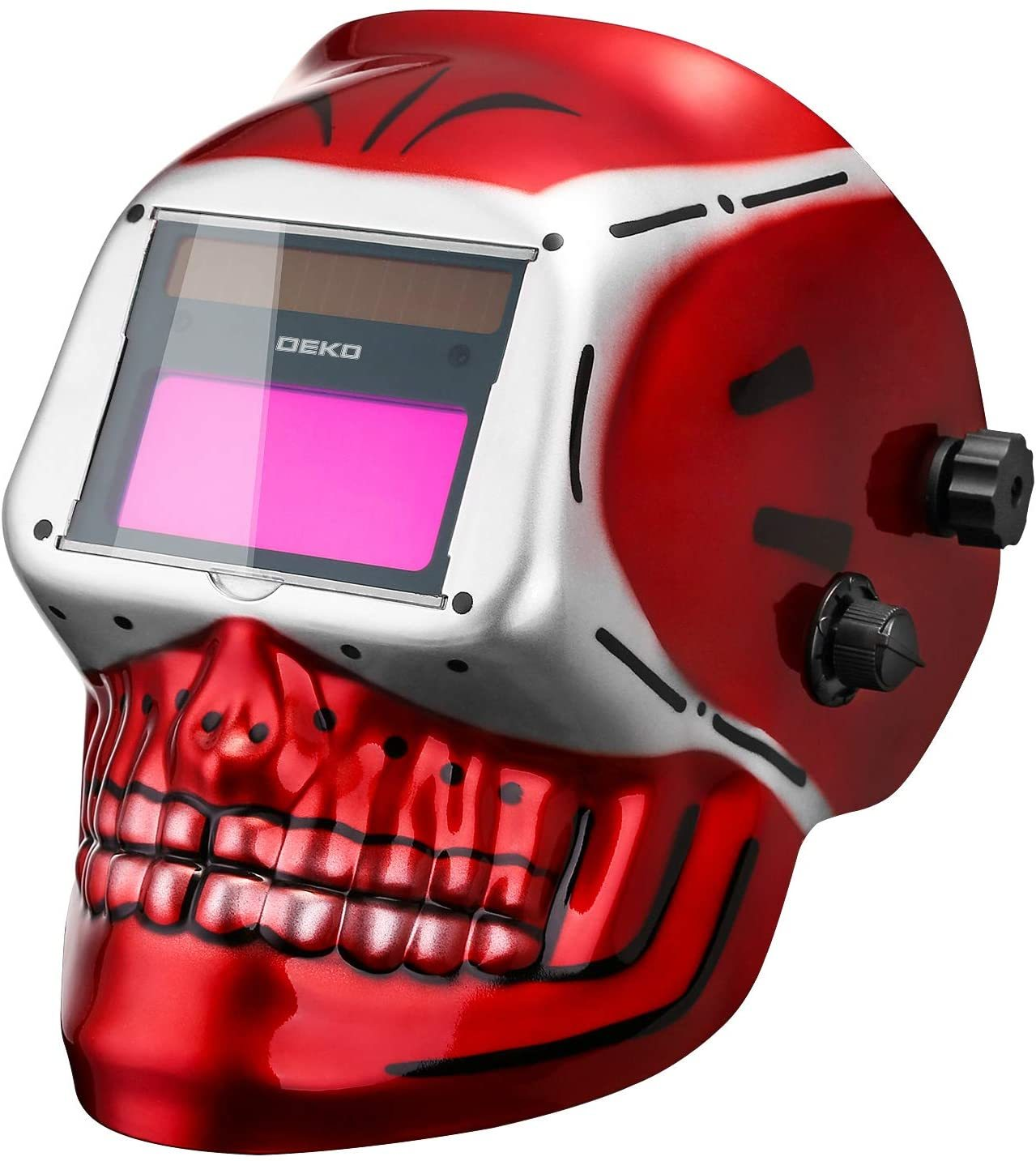 DEKOPRO Welding Helmet with Adjustable Shade