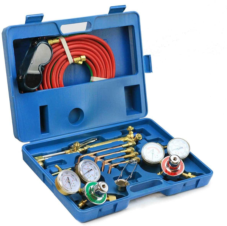 Stark Professional Gas Gas Welding Cutting Torch Kit
