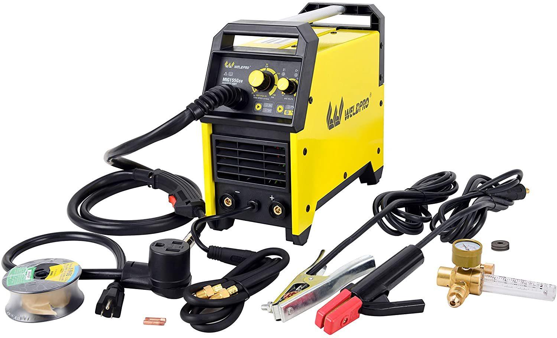 Weldpro MIG155GSV Inverter Welder With Dual Voltage