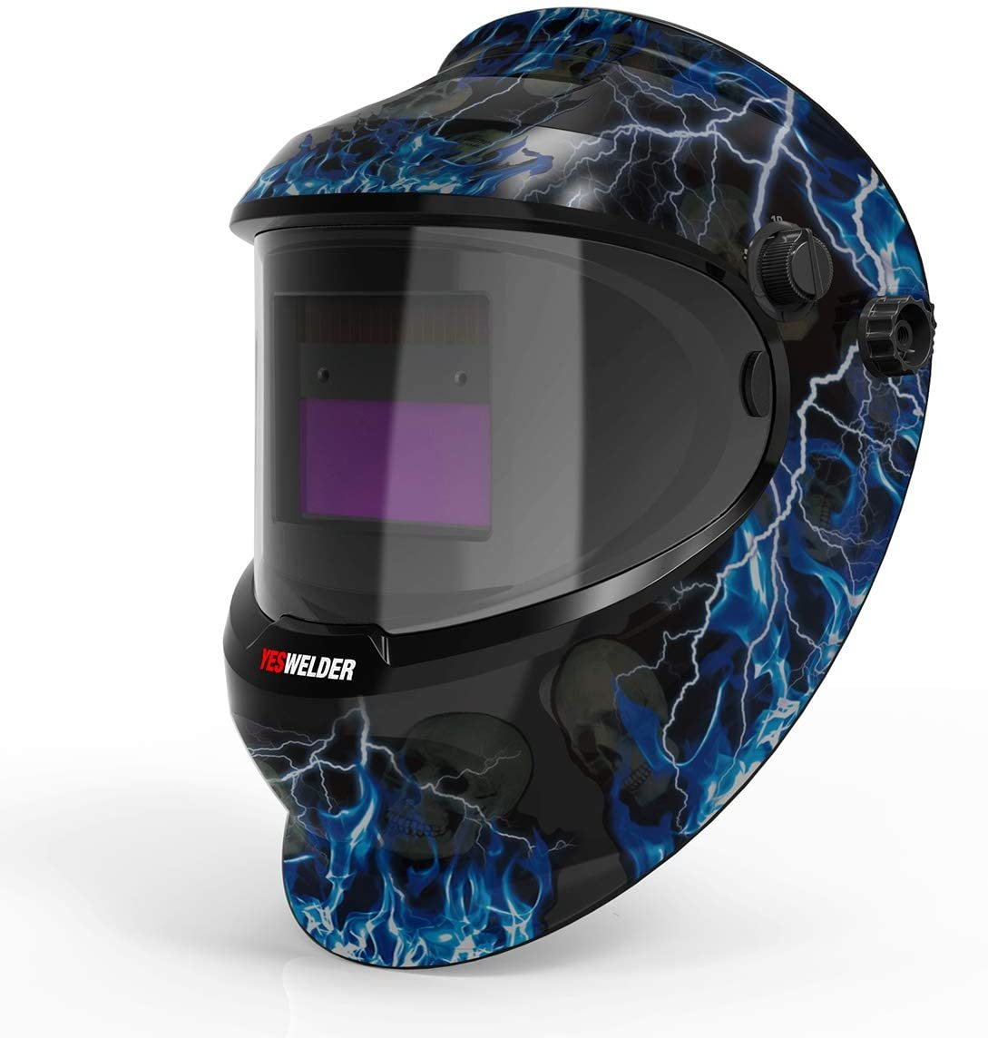 YESWELDER True Color Helmet With Adjustable Shade