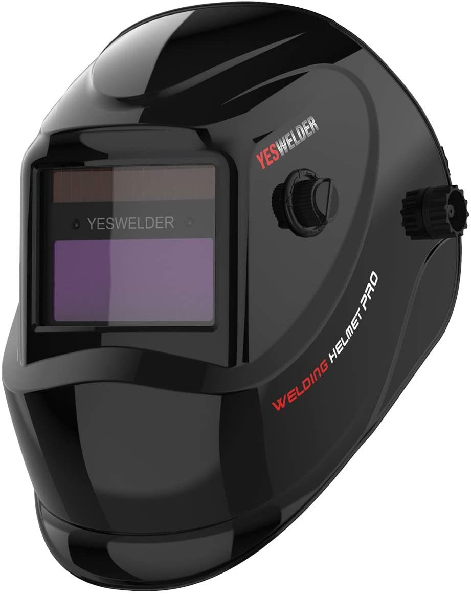 YESWELDER True Color Solar Powered Welding Helmet