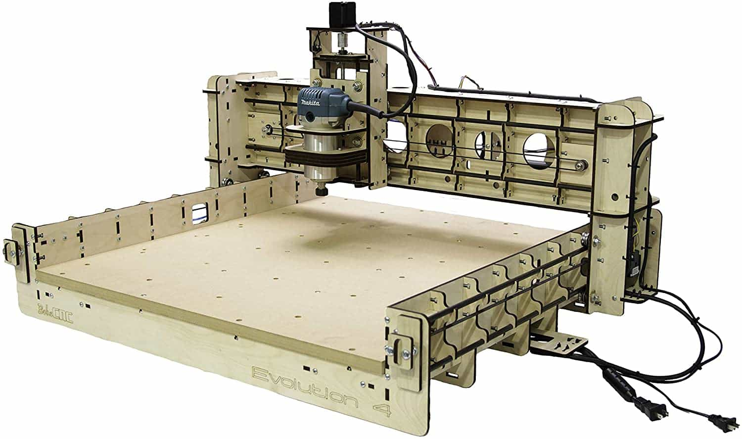 BobsCNC Evolution 4 CNC Router Kit With Router