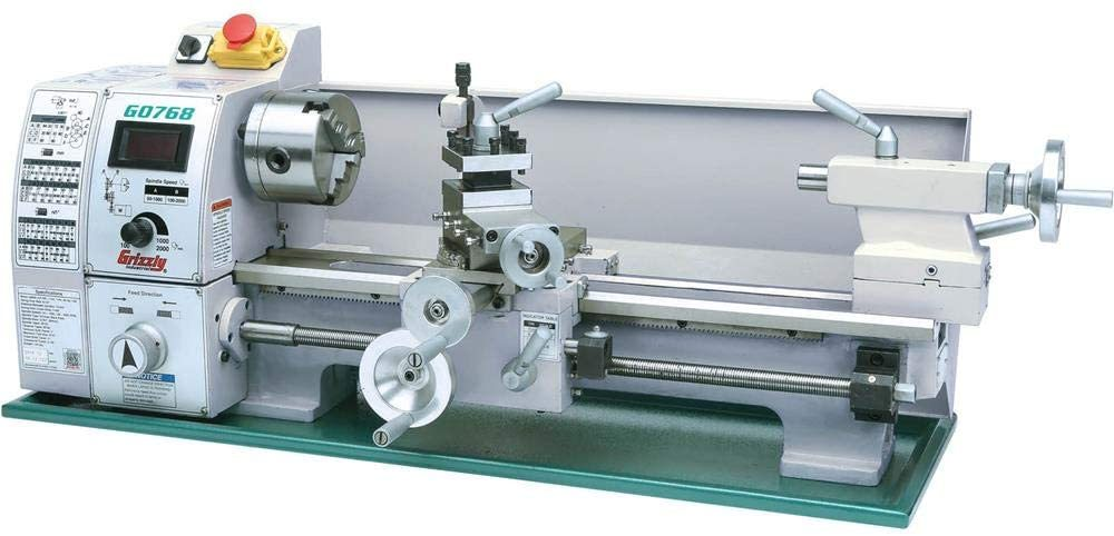 Grizzly Variable-Speed Benchtop Lathe