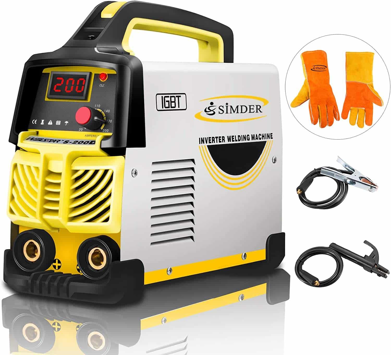 SIMDER 160AMP 110V Welding Machine