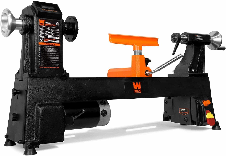 WEN Variable Speed Cast Iron Wood Lathe