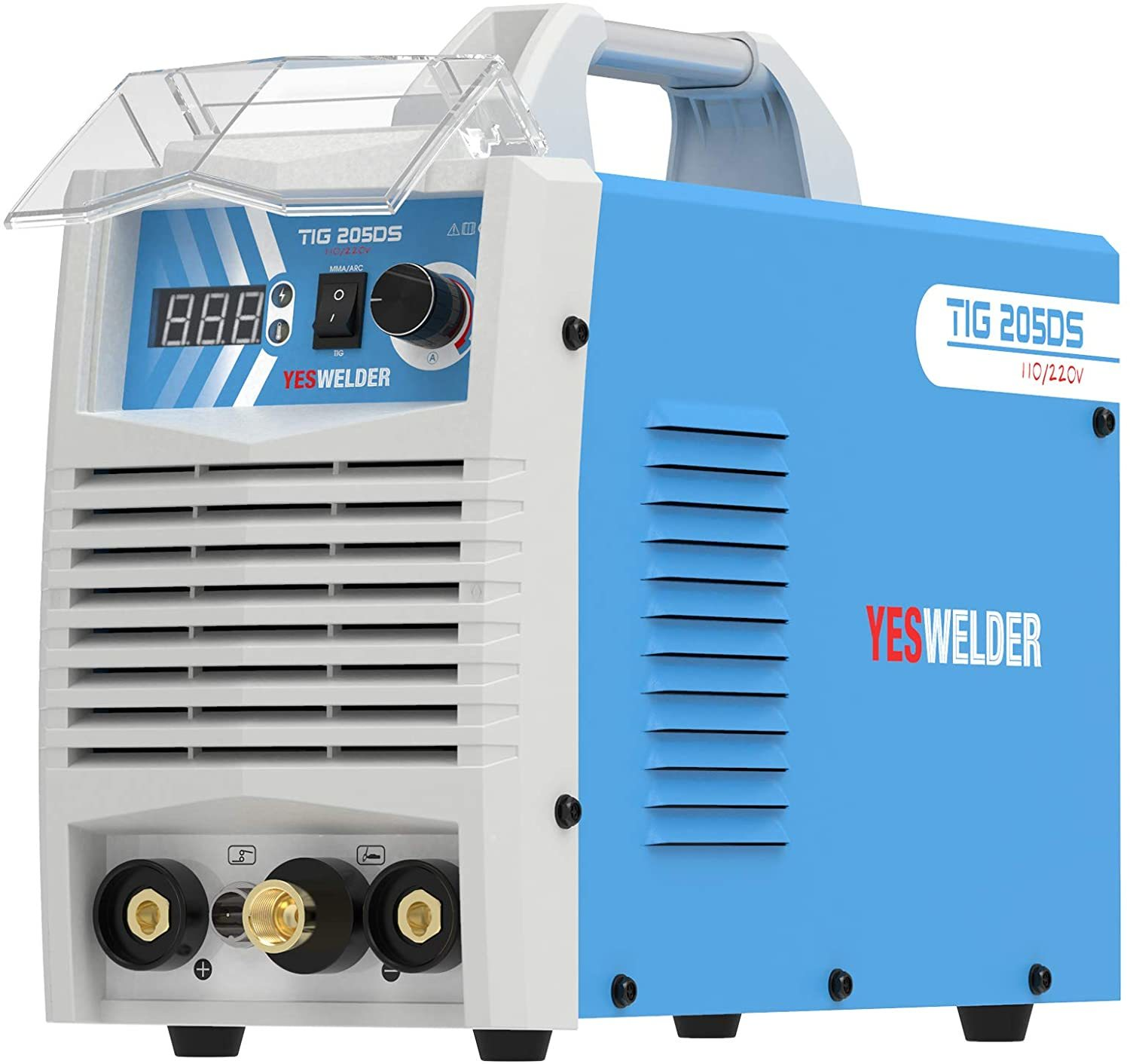 YESWELDER TIG-205DS HF Welding Machine with Foot Pedal