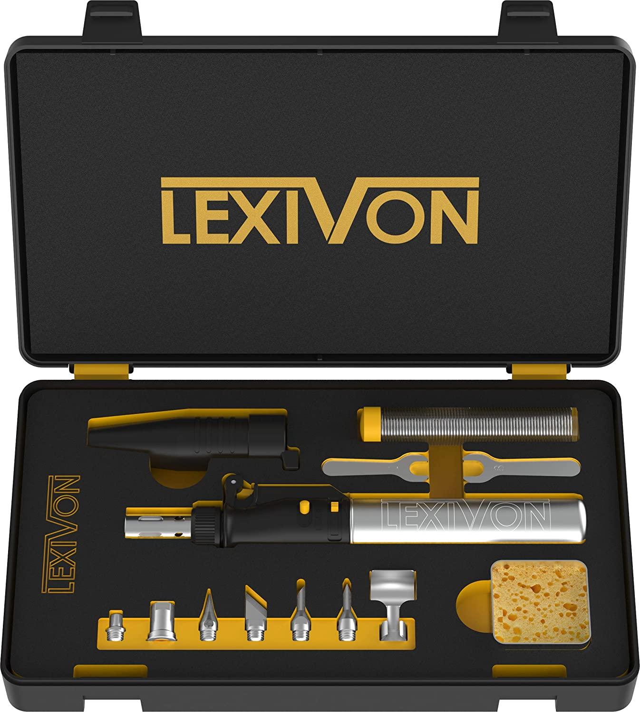 LEXIVON Butane Soldering Iron