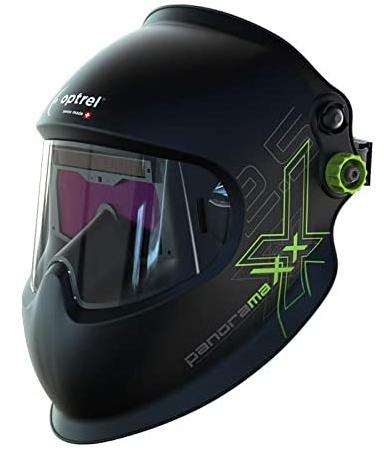 Optrel Panoramaxx Auto-Darkening Welding Helmet Black