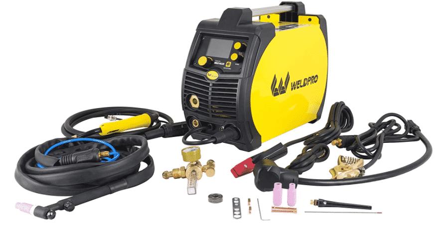Weldpro 210LCD Inverter Multi-Process Welder